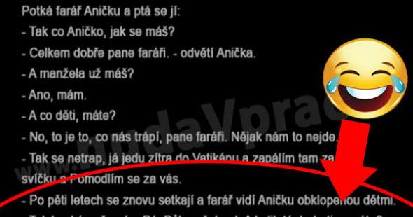 Farár a Anička