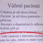Oznam pre pacientov