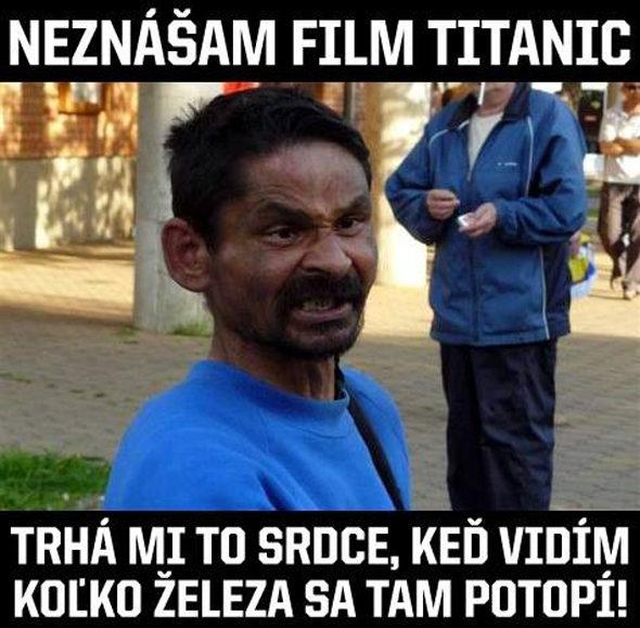 Neznášam film Titanic