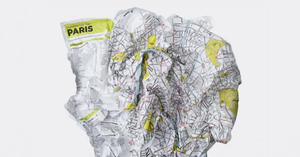 Pokrčená mapa