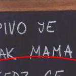 Pivo je ako mama?
