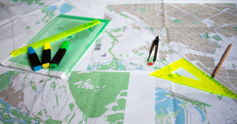 Geometrický plán aslužby katastra